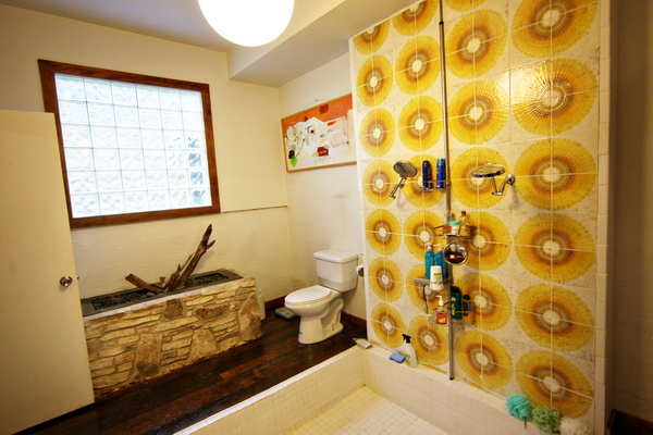 our funky bathroom